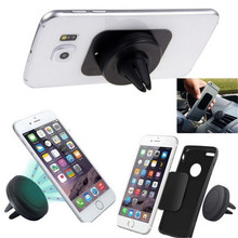 Universal Magnetic Car Air Vent Mount Mobile Phone Holder For Samsung/Xiaomi Redmi Note 3/Meizu/Lg, Cd Slot Clip Bracket Sticky