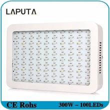 2pcs Led Grow Light 300W Full Spectrum Led Plant Lamp Growing of Blub for Plant Flower Grow Box Tent Hydroponics System