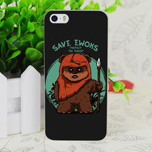 C1312 Save Ewoks Transparent Hard Thin Case Skin Cover For Apple IPhone 4 4S 4G 5 5G 5S SE 5C 6 6S Plus(China)