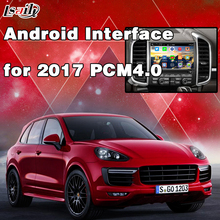 Android 5.1 Navigation System Multimedia Interface for New Porsche Cayenne PCM4.0 support Waze , Igo , Google Map(China)