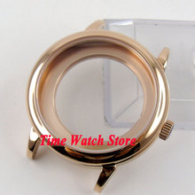40mm rose golden stainless steel Watch Case fit ETA 2824 2836 Automatic MOVEMENT C69