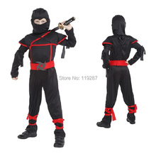Classic Halloween Costumes Cosplay Costume Martial Arts ninja Costumes for kids Fancy Party decorations supplies children gifts