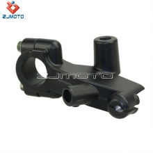 ZJMOTO Brand New Black Bracket For Honda Clutch Lever Bracket Perch Motorcycle VT250 VT450 CT400 VTR250 Free Shipping