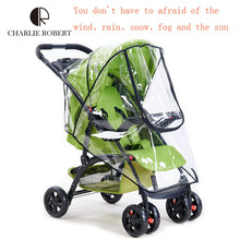 Baby cart accessories cover rain cover thickening pram weather-proof umbrellas raincoat cover general car windshield