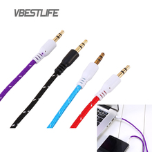 VBESTLIFE Audio Cable 3Ft 1M 3.5mm Plug Jack Male to Male Stereo Audio AUX Cable Cord For AUX MP3 for iPod Car for iPhone TV