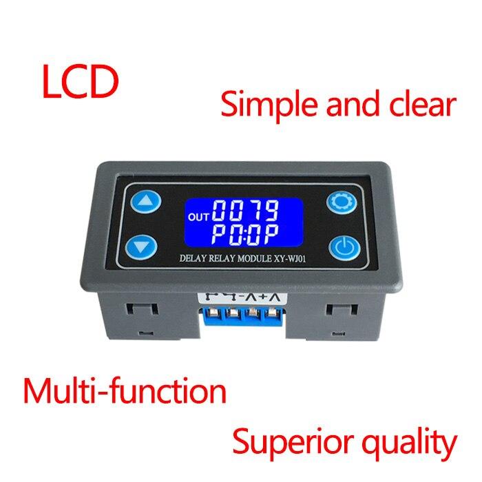 12V Relè ritardato temporizzazione Modulo Ciclo Timer digitale LED Dual Display 0-999 ore