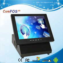 High Quality POS System 12 Inch Touch Screen All In One  Restaurant price Cash Register With 4G/64G
