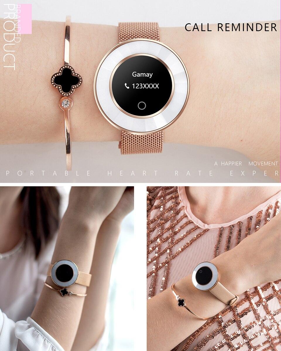 women smart fitness bracelet X6_07