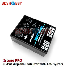 DETRUM IstonePRO 6-Axle Gyros & Stabilizer with ABS System for RC Airplane Support Futaba SBUS PWM Signals(China)