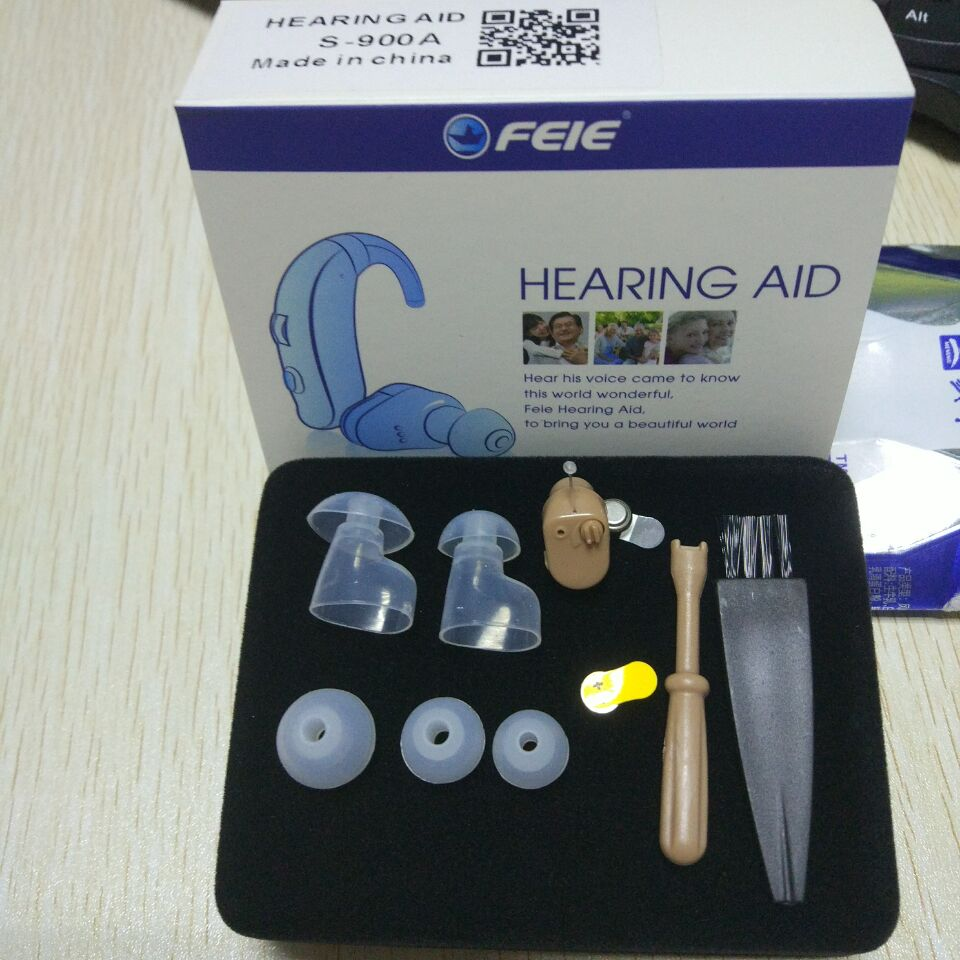 Wireless Mini Hearing Amplifier For Mild Hearing Loss S-900A Hear Clear  Hearing Aid free shipping <br>