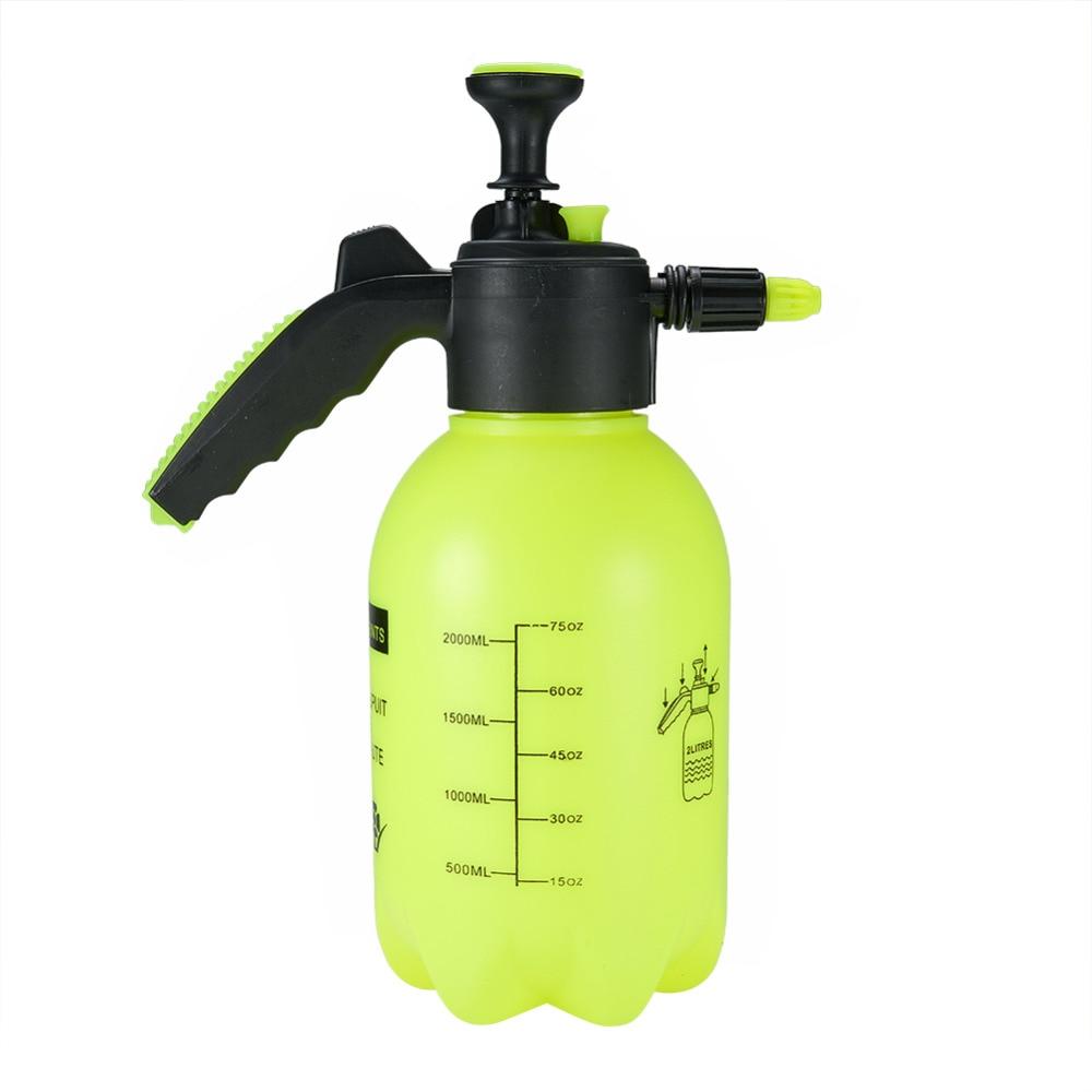 2L Outdoor Plastic Hand Sprayer Pressure Pump Spray Bottle Plant Watering Tool