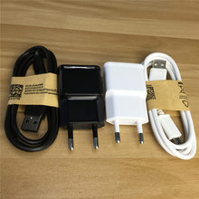 Buy EU Plug AC Wall Charger 1M Micro USB Data Sync Cable Samsung galaxy S7 xiaomi redmi 4x note 4 huawei for $2.79 in AliExpress store