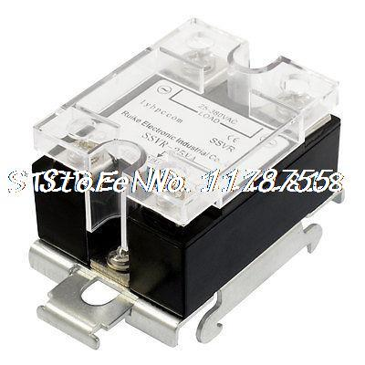SSVR 25A 25-380VAC Output Adjustable Solid State Relay Module DIN Rail Mount<br><br>Aliexpress