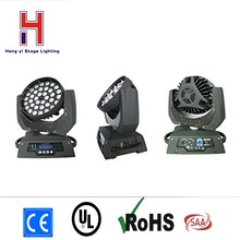 (1pieces/lot) Led Moving Head 36x15w LED Zoom Wash Light 36*12w LED zoom Moving Head Light,zoom LED moving head wash light