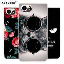 For BlackBerry Keyone Mercury DTEK70 Case Press Silicone TPU Soft Brand Pattern Matte Cover Fashion Phone Case Protective Case