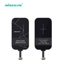 Nillikin Universal Qi Wireless Charger USB Wireless Receiver Android Phone Micro USB Mobile Phone Charger Receiver Transmitter(China)