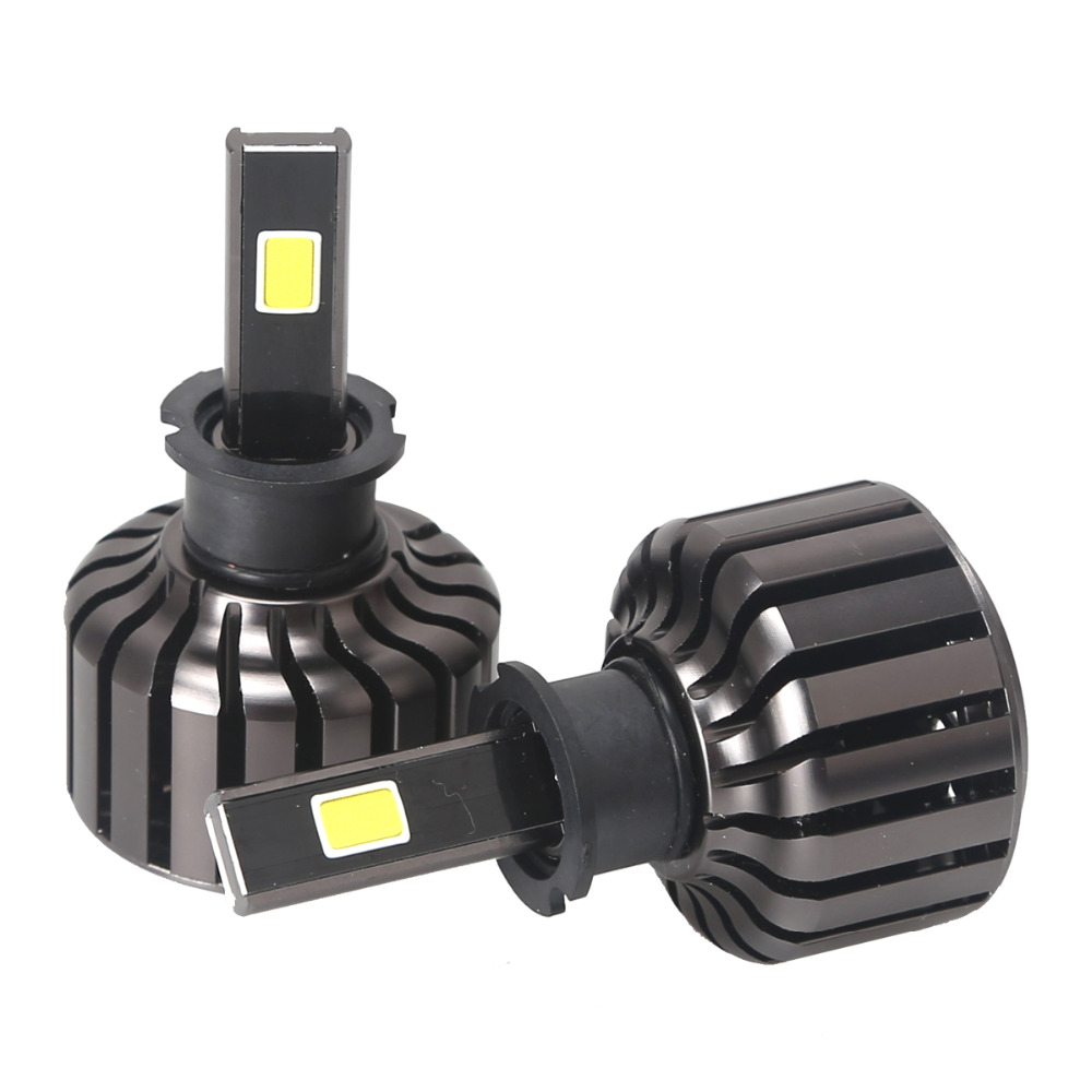 2017 H3 1set  Car Headlights 90w 9000lm Led Head Light Bulb Automobiles Headlamp 6000K white Fog Lamps xenon replace high low<br><br>Aliexpress