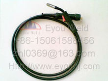 15AK CO2/Air Cooled Gas Welding Torch  180AMP 3M Cables (about 10 feet) Ergoplus for MIG/MAG Machine(Binzel  MB15)
