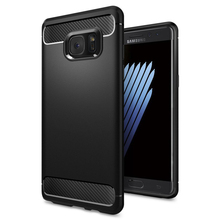 Original Note FE Rugged Armor Case Ultimate Protection Flexible TPU Resilient Cases for Samsung Galaxy Note FE / Note 7(China)
