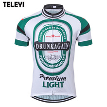Buy TELEYI men's cycling jersey Ropa Ciclismo Short Sleeve Top Shirts bike jersey green white cycle clothing cool shirt bicycle wear for $12.47 in AliExpress store