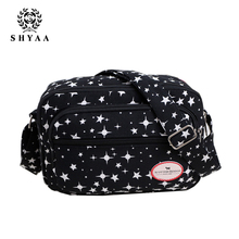 SHYAA 2017 Women Bag New Leisure Canvas Small Square Bag Shoulder Messenger Bag A02