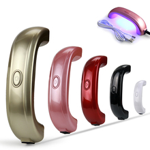 Best Quality LKE 9W Mini Nail Dryer LED Nail lamp for Nail Curing Rainbow Shaped Best Gift for Christmas