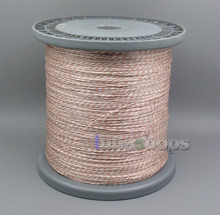 200m 7 (5+2) Wires Earphone Silver Plated + OCC Foil PU (Not Tefl) Skin Insulating Layer Bulk Cable For DIY Custom(China)