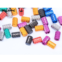 10pcs 100% New 2PCS Aluminium Waterproof Bike Bicycle MTB BMX Car  Alloy Valve Caps Dust Covers FreeShipping&Wholesale