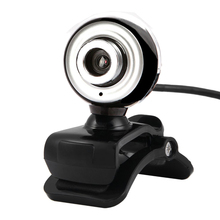 USB 2.0 HD Webcam Web Cam with Mic Clip-on 360 degrees for Desktop Laptop PC Computer Video Chatting Calling and Recording CX14(China)