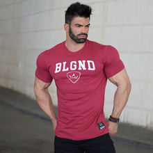 Buy Mens summer t shirt workout Fitness Bodybuilding Shirts Slim fit Fashion Casual Male Short Sleeve Brand cotton Tees Tops clothes for $8.69 in AliExpress store