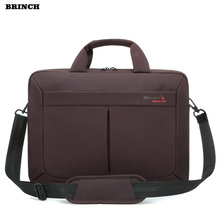 BRINCH Laptop Bag Computer Briefcase For Women Men Universal Waterproof Portable Shoulder PC Bags For Xiaomi Mipad Samsung(China)
