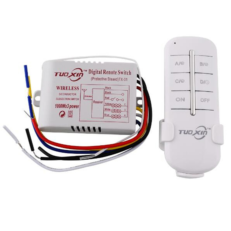 220v remote switch