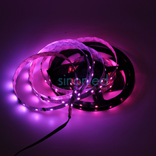 5M 52 LEDs/m Pixels/m LPD8806 8806 IC RGB Dream Color SMD 5050 LED Light Strip individually Addressable Non-Waterproof 4pin DC5V