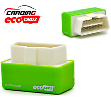 100% Good quality EcoOBD2 Benzine Car Chip Tuning Box Plug and Drive OBD2 Chip Tuning Box Lower Fuel and Lower Emission