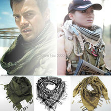 Airsoft Outdoor Scarf  Muffler Desert Tactical Hunting Shawl Military  Men Winter Windproof Scarf Thickening Cotton Wraps