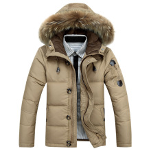 2016 winter thickening men plus size man down coat men's clothing fur collar outerwear winter down parkas CC2059