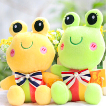 1 piece 12cm sit tall lovely Frog Plush toys, holiday gifts Gifts for children
