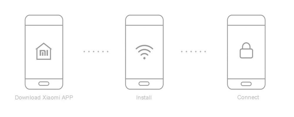 image for New Original Xiaomi Smart Power Strip Intelligent 6 Ports WiFi Wireles