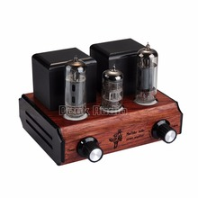 Douk Audio Mini 6N2+6P1 Vacuum&Valve Tube Amplifier Stereo Single-Ended Class A Desktop Power Amp 2.5W*2 Pure Handmade