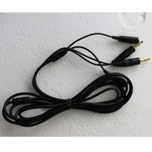 2M/6FT 3.5mm SteelSeries Siberia V2 Neckband Headset Extension Cable Hotsale