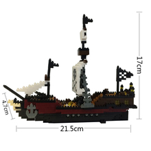 YZPirate RMS Titanic Ship Model Action Figure ABS Bricks Building Blocks Educational Toys for Children Kids Christmas Xmas Gifts