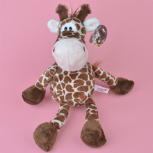 25cm NICI Brown Color Giraffe Plush Toy, Baby Gift, Kids Toy Wholesale with Free Shipping