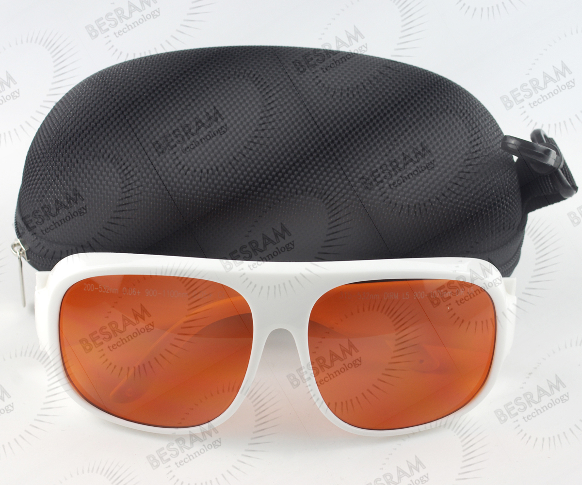 200nm-532nm OD6+ 900n-1100nm OD5+ Laser Protective Goggles Safety Glasses 52#<br><br>Aliexpress