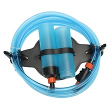 ZHIYANG Aquarium Fish Tank Gravel Vacuum Cleaner Water Changer Siphon Pump Filter Tool Water Changer Siphon ED(China)