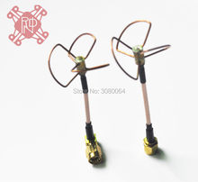RND High Quality 5.8 GHz FPV Straight Shape L Type Inner Needle / inner Hole Cloverleaf 5.8Ghz Antennas Set For RC Helicopter