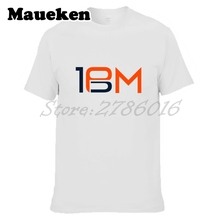 Men Denver Legend #18 Peyton Manning Logo T-shirt Tees Short Sleeve T SHIRT Men's Fashion W1030005(China)