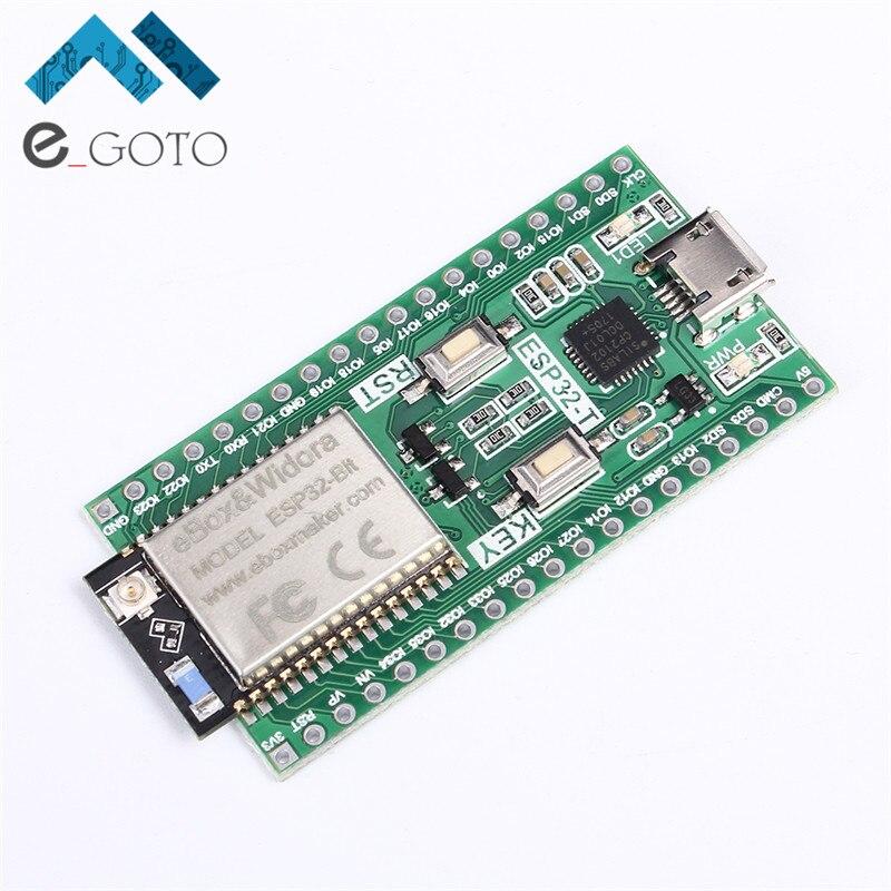 ESP32-Bit WiFi Bluetooth Development Board Dual-Core CPU Ethernet Port ESP-32 Module MCU ESP32-T LOT ESP8266 For Bluetooth ESP32