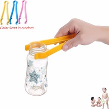 Plastic Baby Milk Bottles Cleaning Tongs Heat Proof Clip Kitchen Clenaing Helper Baby Feeding Accessories Baby Care Tools Favors