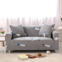 gray Stretchable Elastic sofa covers setter couch armchair loveseat Chaise wrap covers Sofa protective sleeve(China)