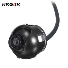 Kroak CCD HD Car Front Side Reverse Camera Kits Rear View Parking Camera Color Cam Night Vision(China)